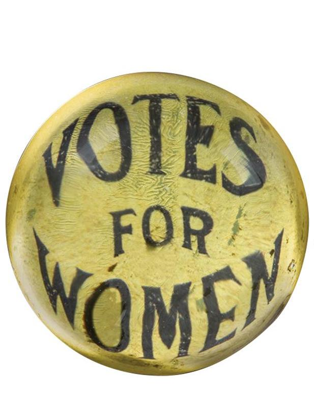 Votes for Women Paperweight,31414